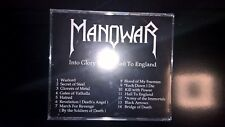 Manowar ‎- Into Glory Ride / Hail To England WI 6001