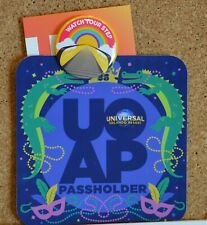 2020 Universal Orlando Annual Passholder Button - Watch Your Step -February 29th