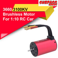 SURPASSHOBBY 3660 3100/4200KV 2S Brushless Motor Waterproof for RC Off-road Car