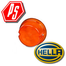 Amber Lens to suit Hella 2077 2143 2861 Lamps Part No:- 2.6830.01