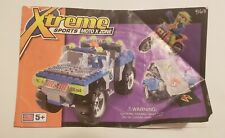 Mega Bloks Xtreme Sports Moto X Zone 9163 Instructions Manual Booklet