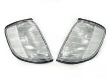 Depo Euro Clear Corner Lights Lamps Set Fit 1992-1999 Mercedes Benz W140 S Class