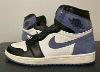 "Nike Air Jordan 1 High OG ""Blue Moon"" 555088-115 Blue 555088-115 Size 10.5 New"
