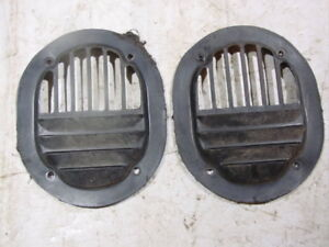 Jeep cab fresh air vent covers interior kick panel J10 J20 wagoneer cherokee