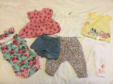 Baby Girls Cute 3-6 month Summer Bundle Next F&F outfits sets playsuit top
