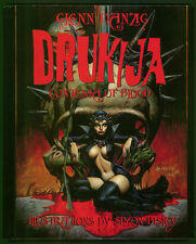 NEW DRUKIJA CONTESSA OF BLOOD HARDCOVER Snd by DANZIG BISLEY Ltd Ed of 222