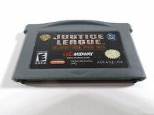 NINTENDO GAMEBOY ADVANCE GAME--JUSTICE LEAGUE IN JUSTIC FOR ALL (LOOK)