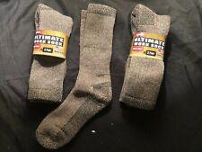 4 Pairs of Carolina Ultimate wool Crew Work Socks Large