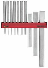 Teng Tools WRPC10 | Centre & Parallel Punch & Chisel Wall Rack Set 10pc