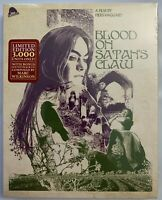 NEW BLOOD ON SATAN'S CLAW LIMITED EDITION BLU RAY CD SLIPCOVER SEVERIN EXCLUSIVE