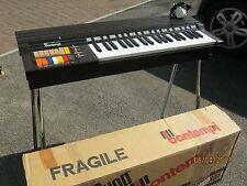 Retro 1970s Bontempi Organo elettronico HF 222.21 & Chrome Stand-SUPER in scatola con