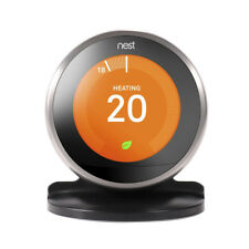 Hot Black Bracket Stand Desk Holder For Nest Learning Thermostat 3rd Generation