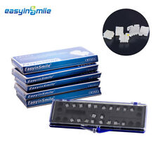 5Kits Dental Orthodontic Brackets Ceramic Braces MINI Roth 022 345 EASYINSMILE