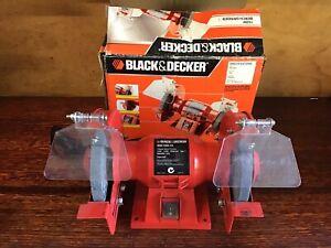 Black & Decker Bench Grinder 150mm, Bg6 150A-XE