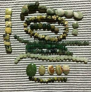 Serpentine Jade Gemstone 4.5mm Smooth Heishi Beads 16 Strand