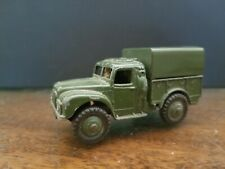 Dinky Toys Military Army 1 Ton Truck #641 Played With Condition