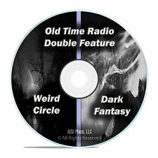 Weird Circle + Dark Fantasy, 234 Episodes, Old Time Radio Shows, OTR, DVD CD F70