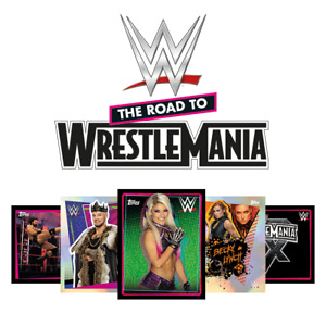 TOPPS WWE Road To Wrestlemania 2021 Sticker Collection COMPLETE SET WITH LTD EDS