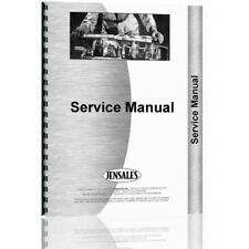 Ford 8000 8600 9000 9600 Tractor Service Manual (FO-S-8000+)