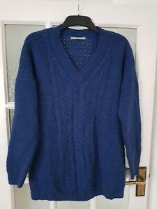 M&S WOMAN  lambswool jumper size L-XL