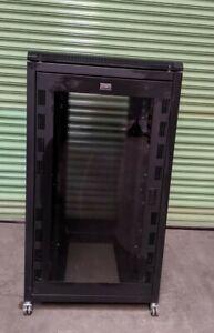 Prism 27U 800 x 1000  Black Rack Server Cabinet Enclosure + Fan