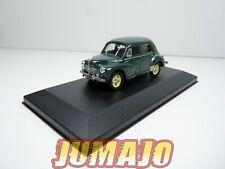 4CV17 Voiture 1/43 ELIGOR: Renault 4CV grand luxe type R1060 boîte vitrine 1950