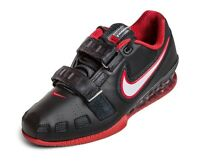 NIKE ROMALEOS 2 OLYMPIC WEIGHTLIFTING POWERLIFTING CROSSFIT SHOES BLACK RED