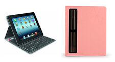 Logitech Solar Keyboard Folio CORAL ROUGE Clavier Sans Fil pour iPad2/iPad3iPad4