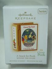 2009 Hallmark Keepsake Ornament A Snack For Pooh Winnie The Pooh #12