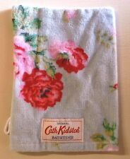 Cath Kidston Antique Rose Blue Wash Mitt / Flannel BNWT - Includes Postage