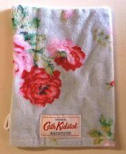 Cath Kidston Antique Rose Wash Mitt Flannel Cloth Blue 100 Cotton