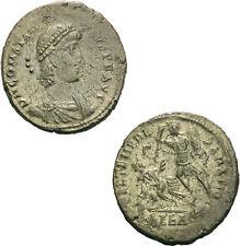 Constantius II Maiorina Alexandria 351-355 FEL TEMP REPARATIO Reitersturz RIC 72