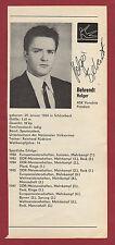 Orig.Autogramme  HOLGER BEHRENDT (DDR) TURNEN - Olympiasieger / von 1988 !!  TOP