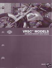 HARLEY Teilebuch 2009 VRSCAW VRSCF VRSCDX 99457-09A OVP