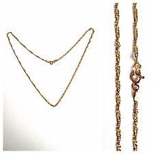 Schöne Goldkette 585er Gold Goldkette 14 Karat Goldschmuck 44 cm Gelbgold