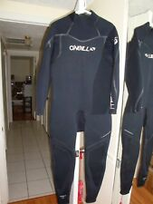 O'Neill Dive Wetsuits 3 mm Sector Fluid Seam Weld Full Suit Black X-Large Short