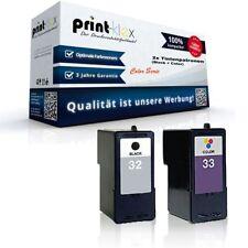 2x Alternative Tintenpatronen für Lexmark X-5470 Ink Cartridges Ki Color