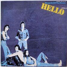 HELLO / KEEPS US OFF THE STREETS / ROCK / TOSHIBA EMI JAPAN IES-80770