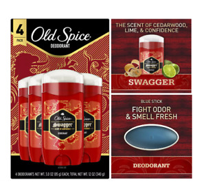Old Spice Swagger Red Collection Deodorant 4-Pack