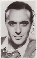 Charles Boyer signée Original Vintage circa 1935