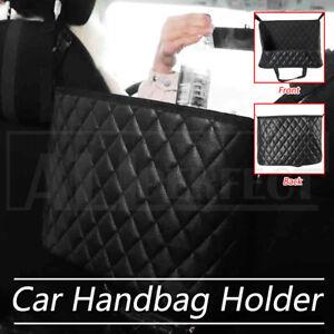 Advanced Between Car Seat Side Storage Bag Net Pocket Handbag Holder Organize AU