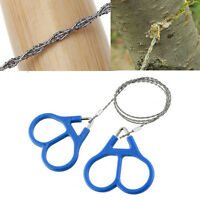 Stainless Steel Ring Wire Camping Saw Rope Outdoor Survival Emergency Kit*`