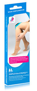 2x KNIE TAPE - Kinesiologie Pre Cut Physio Tape vorgeschnitten- Sport Tape -Sale