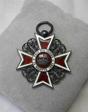 Crown of Romania Knight Medal 1881-1932 Prin Noi Insine Ordinul Coroana României