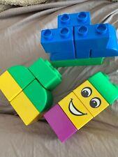 Lego Quatro Quattro Large Building Blocks Lot of 18 Pieces Chunky Toddler Size