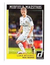Luka modric 2015 Panini Donruss soccer, midfield maestros!!!