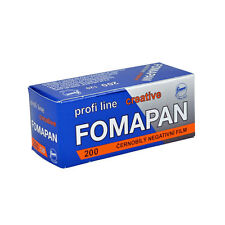 1 Roll x FOMAPAN 200 Medium Format 120 Profi Line Creative B&W Film by FOMA
