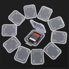 6 pcs Plastic Case Holder Box Storage Without Card Standard SD SDHC Memory Cards