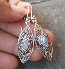 Moonstone Stone Handcrafted Earrings