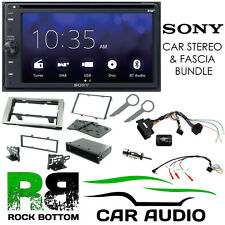 Ford Fiesta 2005-2008 SONY Bluetooth DAB Car Stereo Black Kit CTKFD21